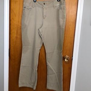 Nice khaki pants!